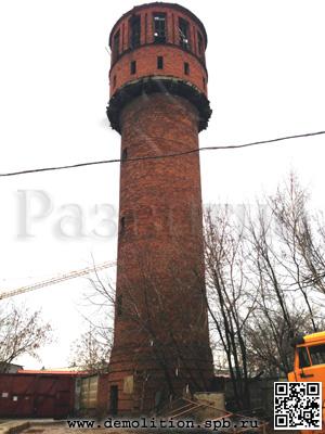 Технологические карты на демонтаж водонапорных башен